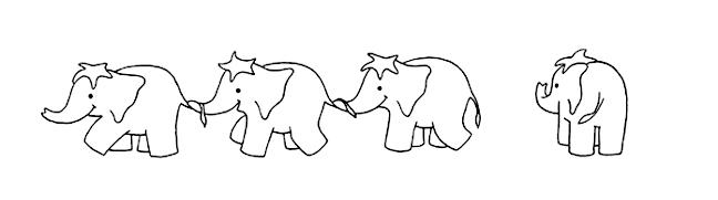 Elephant kids