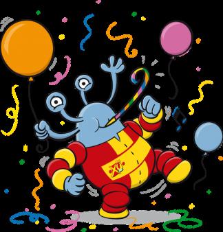 Mascot illustrations for ASJ youth organization