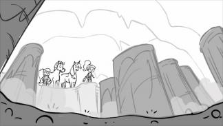 Storyboard for Nella the Princess Knight