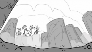 Storyboard for Nella the Princess Knight